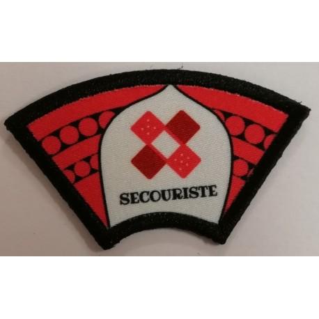 Ecusson Secouriste Vaillant