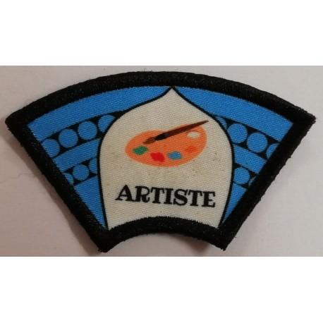 Ecusson Artiste Vaillants
